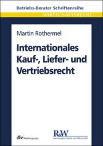 eBook Internationales Kauf-, Liefer- und Vertriebsrecht Cover