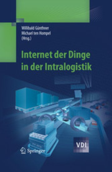 eBook Internet der Dinge in der Intralogistik Cover