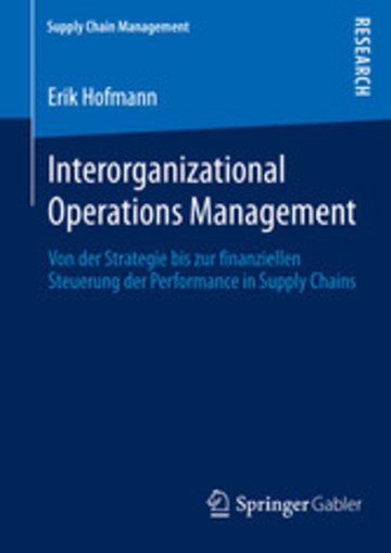 eBook Interorganizational Operations Management Cover