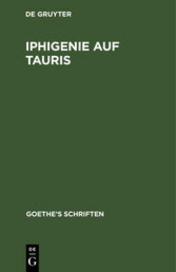 eBook Iphigenie auf Tauris Cover