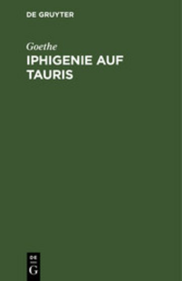 eBook Iphigenie auf Tauris Cover