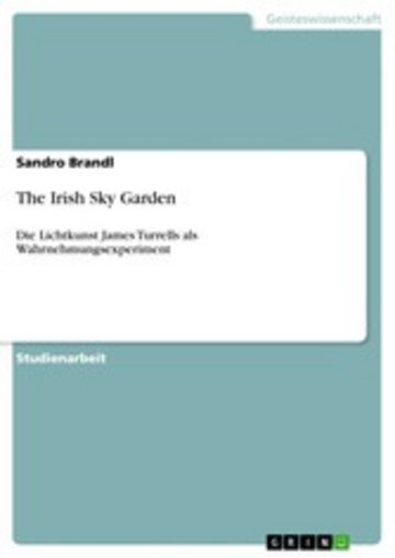 eBook The Irish Sky Garden Cover
