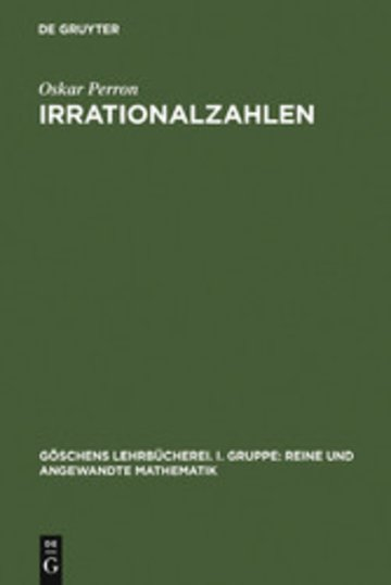eBook Irrationalzahlen Cover