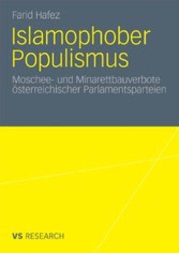 eBook Islamophober Populismus Cover