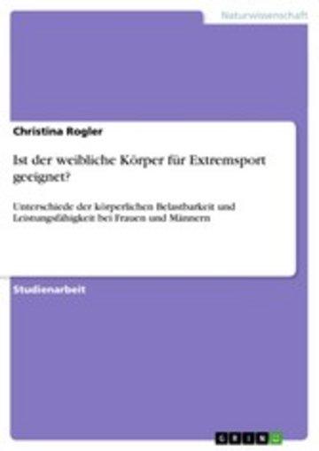 eBook Ist der weibliche Körper für Extremsport geeignet? Cover