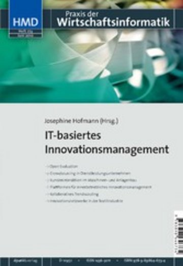 eBook IT-basiertes Innovationsmanagement Cover