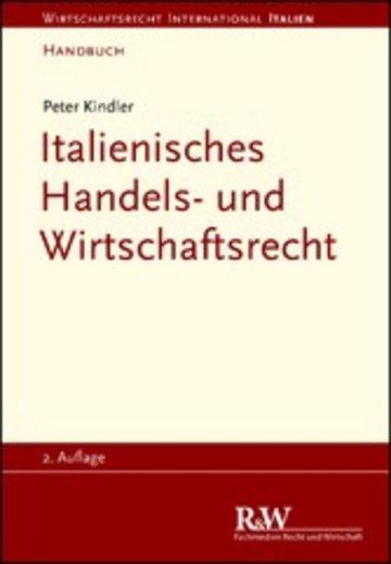 eBook Italienisches Handels- und Wirtschaftsrecht Cover