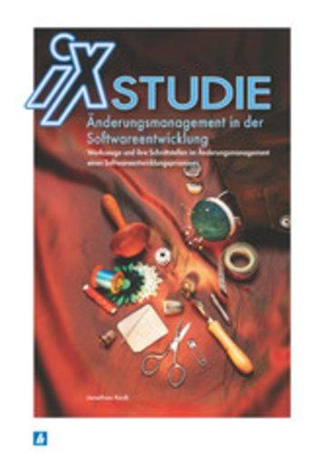 eBook iX Studie - Änderungsmanagement in der Softwareentwicklung Cover