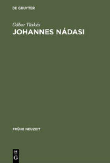 eBook Johannes Nádasi Cover