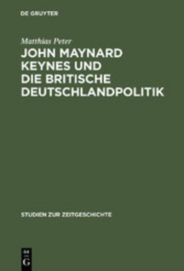 eBook John Maynard Keynes und die britische Deutschlandpolitik Cover