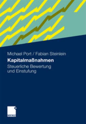 eBook Kapitalmaßnahmen Cover
