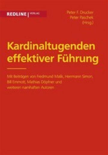 eBook Kardinaltugenden effektiver Führung Cover