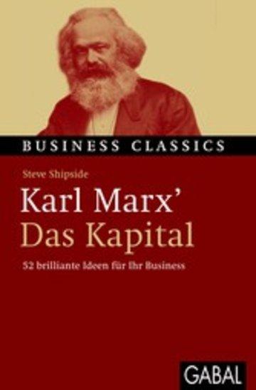 eBook Karl Marx' 'Das Kapital' Cover