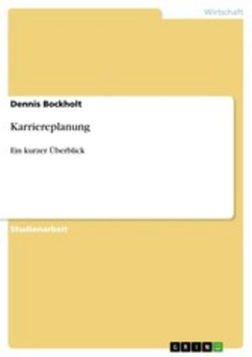 eBook Karriereplanung Cover