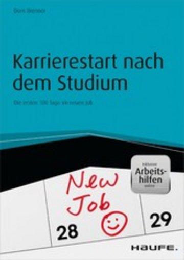 eBook Karrierestart nach dem Studium - inkl. Arbeitshilfen online Cover