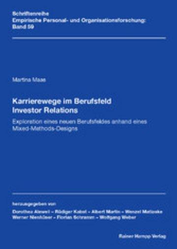 eBook Karrierewege im Berufsfeld Investor Relations Cover