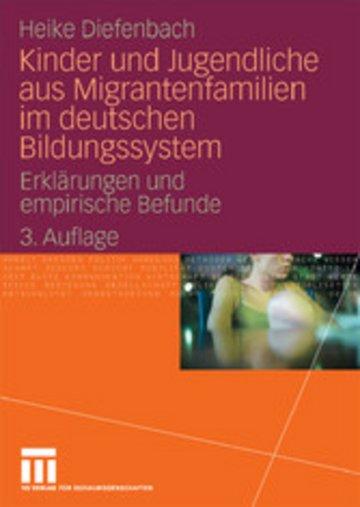 eBook Kinder und Jugendliche aus Migrantenfamilien im deutschen Bildungssystem Cover