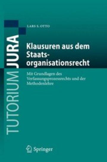 eBook Klausuren aus dem Staatsorganisationsrecht Cover