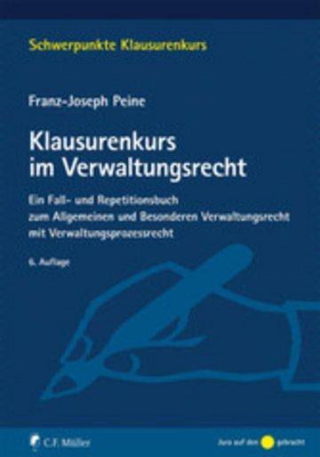 eBook Klausurenkurs im Verwaltungsrecht Cover