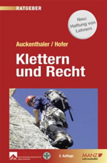 eBook Klettern & Recht Cover