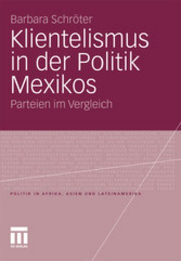 eBook Klientelismus in der Politik Mexikos Cover
