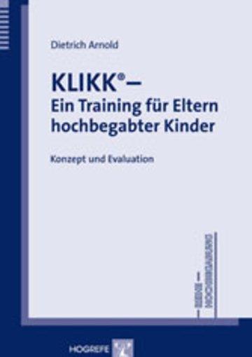 eBook KLIKK – Ein Training für Eltern hochbegabter Kinder Cover