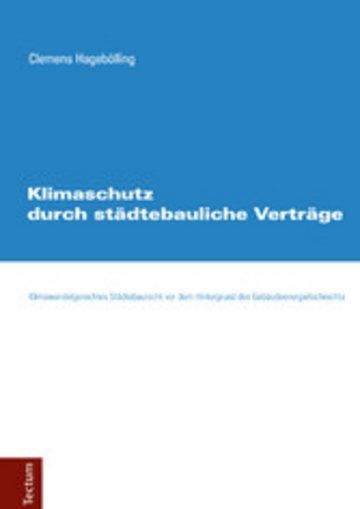 eBook Klimaschutz durch städtebauliche Verträge Cover