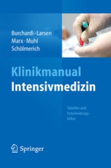 eBook Klinikmanual Intensivmedizin Cover