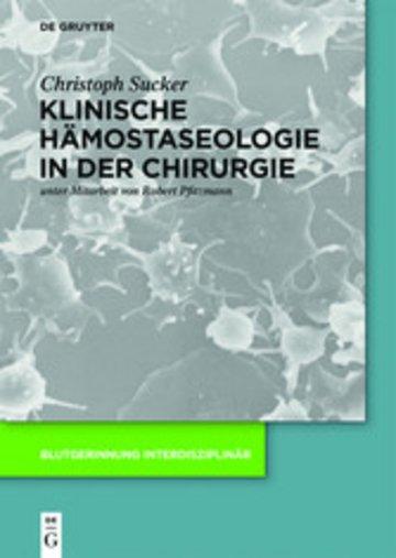 eBook Klinische Hämostaseologie in der Chirurgie Cover
