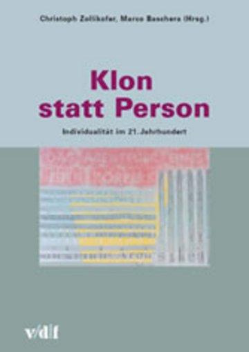 eBook Klon statt Person Cover