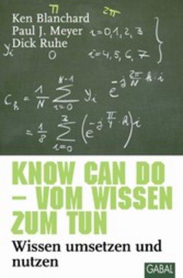 eBook Know can do - vom Wissen zum Tun Cover