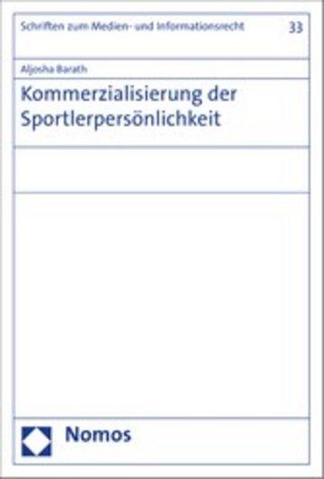 eBook Kommerzialisierung der Sportlerpersönlichkeit Cover