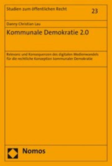eBook Kommunale Demokratie 2.0 Cover
