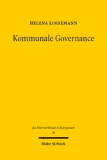 eBook Kommunale Governance Cover