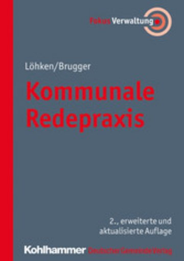 eBook Kommunale Redepraxis Cover