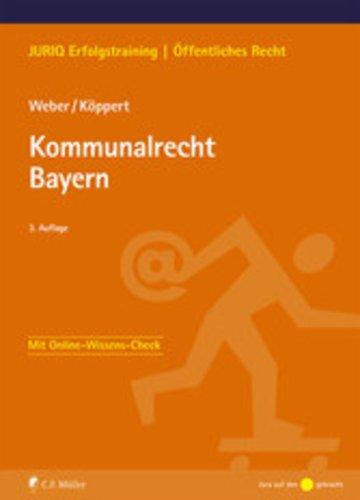 eBook Kommunalrecht Bayern Cover