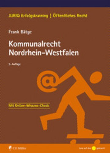 eBook Kommunalrecht Nordrhein-Westfalen Cover