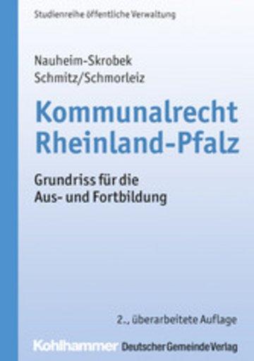 eBook Kommunalrecht Rheinland-Pfalz Cover