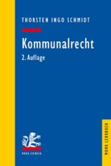 eBook Kommunalrecht Cover