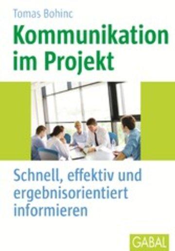 Ebook Kommunikation Im Projekt