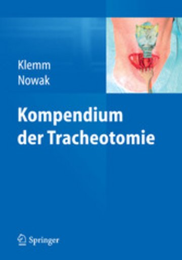eBook Kompendium der Tracheotomie Cover