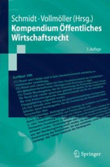 eBook Kompendium Öffentliches Wirtschaftsrecht Cover