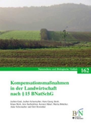 eBook Kompensationsmaßnahmen in der Landwirtschaft nach § 15 BNatSchG Cover