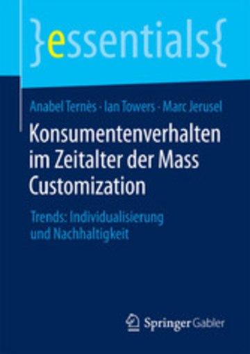 eBook Konsumentenverhalten im Zeitalter der Mass Customization Cover