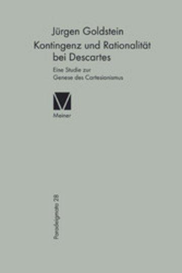 eBook Kontingenz und Rationalität bei Descartes Cover
