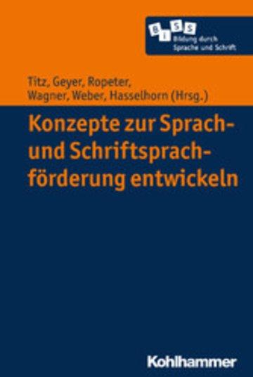 Konzepte Zur Sprach Und Schriftsprachförderung Entwickeln Pdf