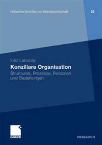 eBook Konziliare Organisation Cover