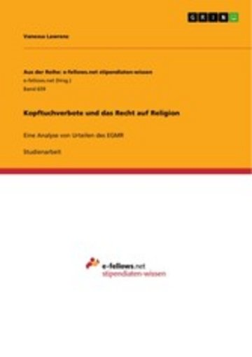 eBook Kopftuchverbote und das Recht auf Religion Cover