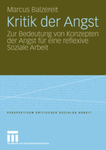eBook Kritik der Angst Cover
