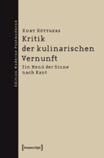 eBook Kritik der kulinarischen Vernunft Cover